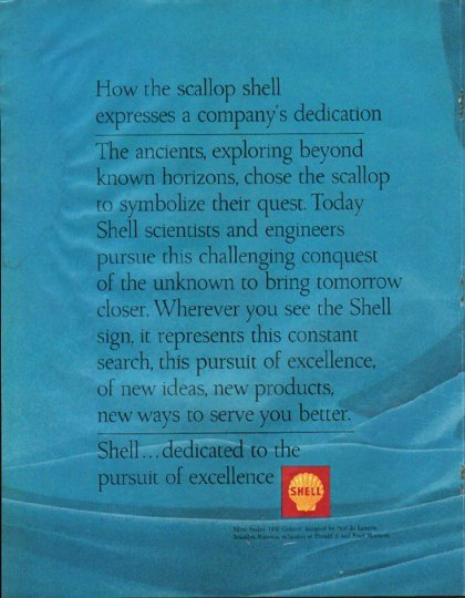 "1965 Shell Oil Ad ""scallop shell"""