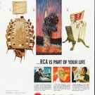 """1964 RCA Electronics Ad """"If you run a business"""""""