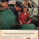 """1965 Mobil Oil Ad """"The Faselt family"""""""