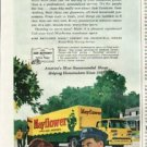 """1961 Mayflower Movers Ad """"We moved by Mayflower"""""""