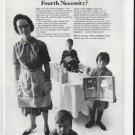 "1965 Metropolitan Life Insurance Ad ""the Fourth Necessity"""