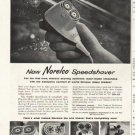 """1958 Norelco Ad """"Hold Tomorrow"""""""