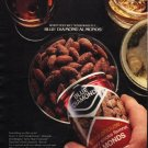 "1980 Blue Diamond Almonds Ad ""wet your whistle"""