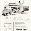 "1958 Seiberling Tires Ad ""Come out of the doghouse"""