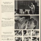 """1948 American Optical Ad """"Facts and Fallacies"""""""
