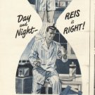 "1948 Reis Underwear Ad ""Day and Night"""