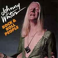 Blues) Johnny Winter Rock & Roll People VG+ '88 Cassette