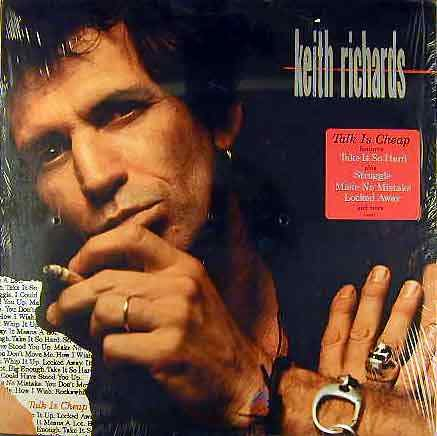 Rolling Stones) Keith Richards Talk Is Cheap Sealed Cassette