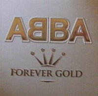 Abba Forever Gold New oop '98 Promo Flat