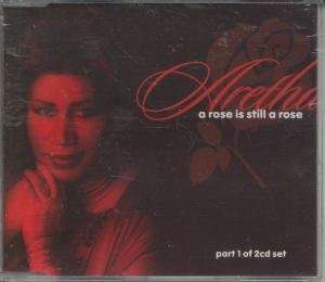R&B) Aretha Franklin A Rose... 5 Track op '98 Promo PS CD Single