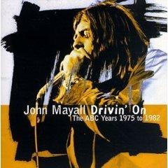 Blues) John Mayall Drivin' On New op Promo Pinback