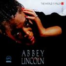 Jazz) Abbey Lincoln World Is Falling Down Mint op France Chrome Cassette