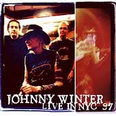 Blues) Johnny Winter Live In NYC '97 New op Promo Poster