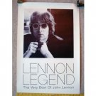 Beatles) Very Best of John Lennon Legend Mint op Big '98 Promo Poster