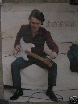 Traffic) Steve Winwood Junction Seven op '97 Promo Poster