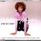 R&B Gospel) Whitney Houston Step By Step UK Promo PS CD Single