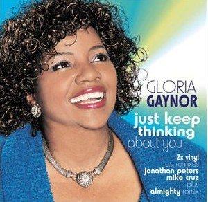 "R&B DJ Dance) Gloria Gaynor Just Keep Thinging About You New PS 12"" Remix Set"