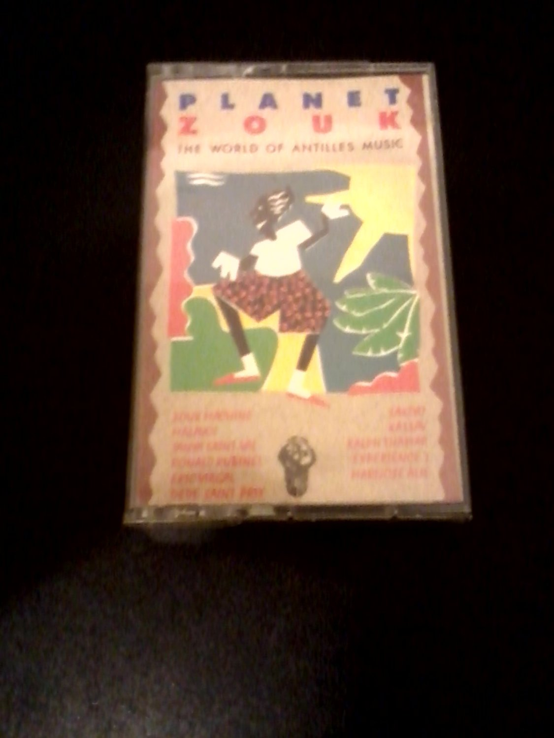 World) Planet Zouk Mint '91 Caribbean Cassette