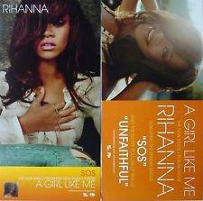 Pop) Rhianna A Girl Like Me New op '06 Promo Poster
