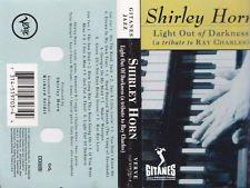 Jazz) Shirley Horn Light Out Of Darkness  VG+ '93 Chrome Cassette