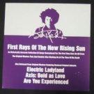 Jimi Hendrix First Rays... New op '97 Promo Flat
