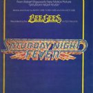Gibb) Bee Gees More Than A Woman Mint op '77 PS Sheet Music