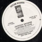 Jackson Browne Lawyers In Love New 1982 WLB Promo 12""