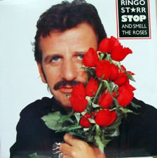 Beatles) Ringo Starr Stop & Smell The Roses VG+ op LP Cover/No Record