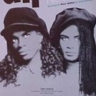 R&B Pop) Milli Vanilli All Or Nothing EX op '90 PS Sheet Music