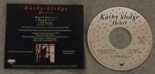 R&B) Sister Kathy Sledge Heart 3 Remixes VG+ op '92 Promo CD Single