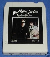 Hall & Oates Beauty On The Back Street VG+ '77 8 Track Tape