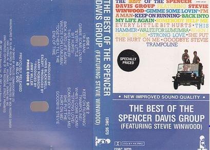 Best Of Spencer Davis Group Feat. Winwood Canada Cassette