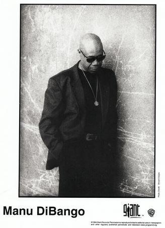 Africa Jazz) Manu Dibango Wakafrika New op '94 Body Shot Press Photo