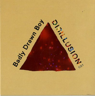 Indie Rock) Badly Drawn Boy Disillusion New UK PS CD Single