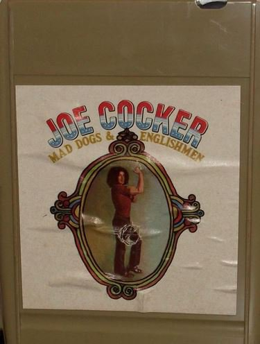 Leon Russell) Joe Cocker Mad Dogs... VG+ '70 8 Track Tape