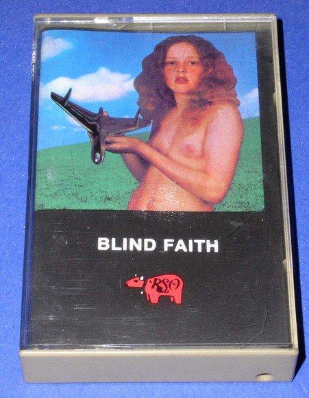 Winwood Clapton & Blind Faith EX NUDE GIRL COVER Cassette