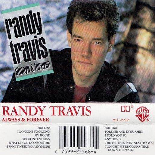 Country) Randy Travis Always & Forever VG+ '87 Cassette