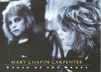 Country) Mary Chapin Carpenter State Of The Heart EX '89 Cassette