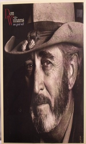Country) Don Williams One Good Well VG+ '89 Cassette