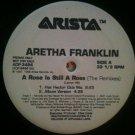"R&B DJ Dance) Aretha Franklin A Rose... NEW '98 PS 2 12"" Remix Set"