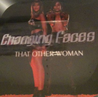 """r&b) changing faces that other woman vg+ ps wlb dj remix 2 12"""" set"""