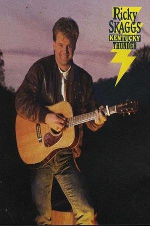 Country) Ricky Skaggs Kentucky Thunder VG+ '89 Cassette