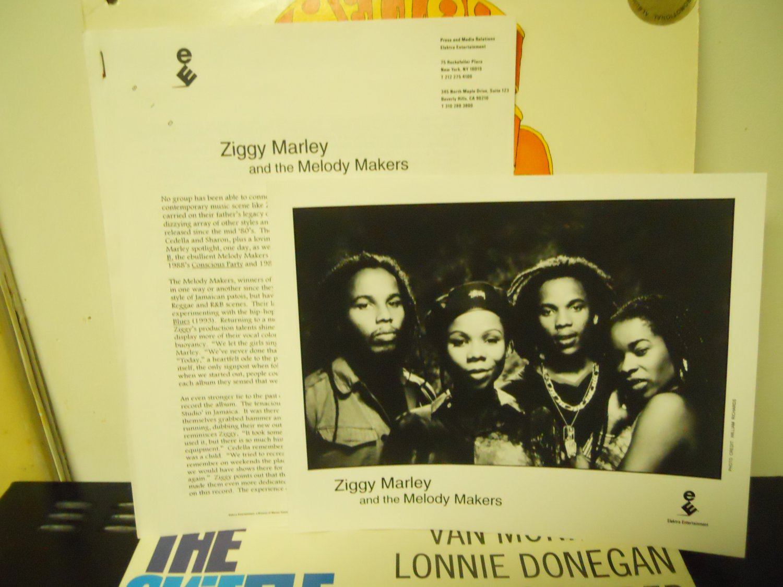 Reggae) Ziggy Marley Free  To Be... Mint '95 Press Kit & Photo