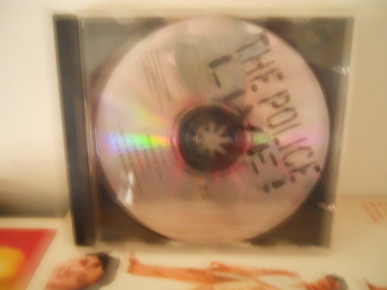 sting & police live EX 1995 5 track promo cd