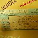 julian cope 1991 marquee club nyc EX used ticket stub #1