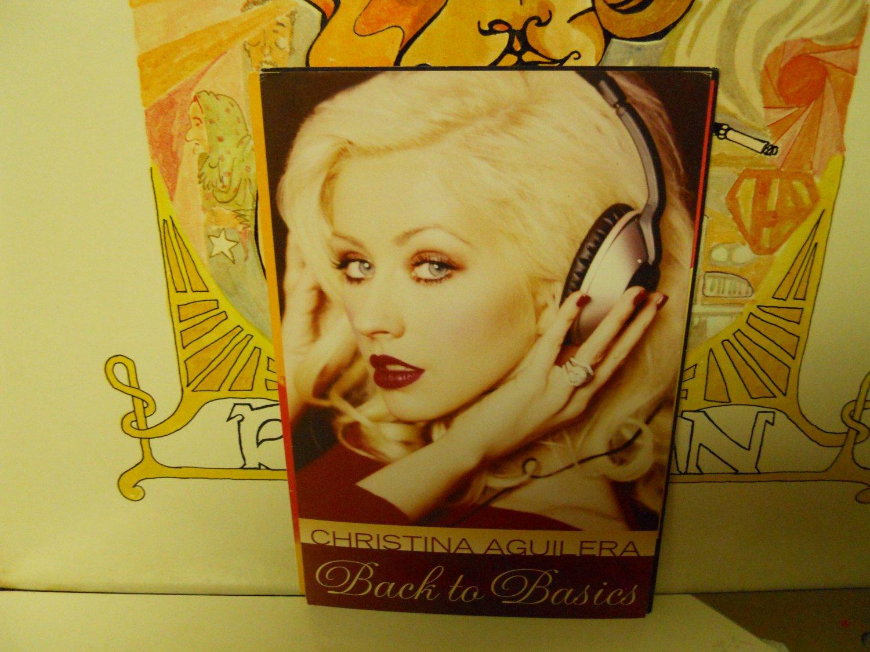 Christina Aquilera Back To Basics New op 2006 Promo Card