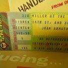 joan armatrading ex 1981palladium theater new york ticket stub #2