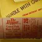 joan armatrading ex unused 1980 new york central park ticket