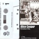 pop punk new wave) alice cooper greatest hits EX cassette