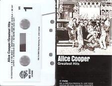 pop punk new wave) alice cooper greatest hits EX cassette